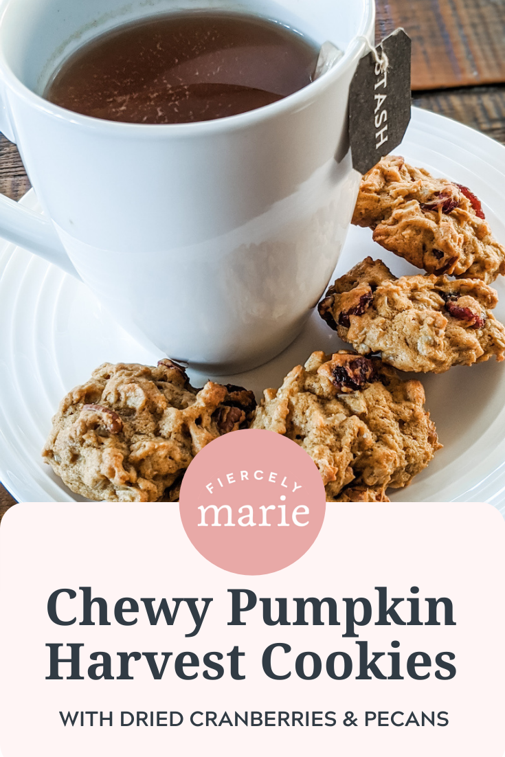 Chewy Pumpkin Harvest Cookies