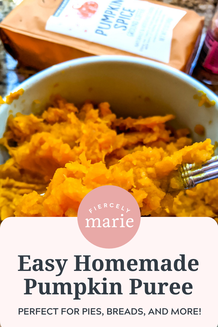 Easy Homemade Pumpkin Puree - Better than Canned!