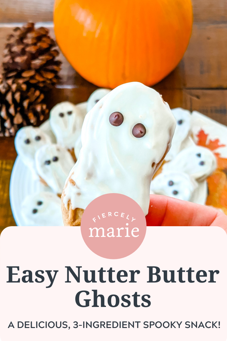Easy Nutter Butter Ghosts: Halloween at Home