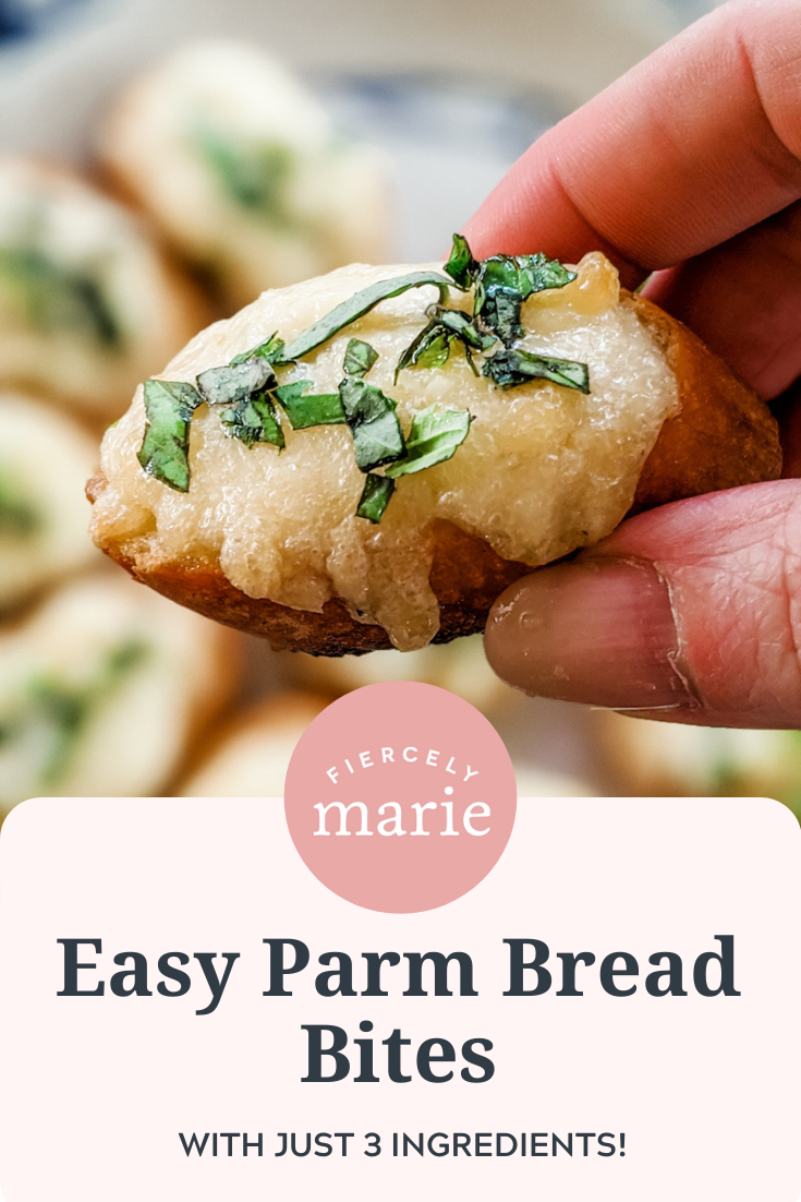 3 Ingredient Appetizer: Easy Parm Bread