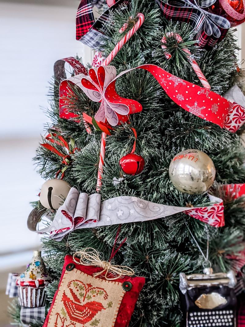 Fabric Diy Christmas Garland Marie Bostwick
