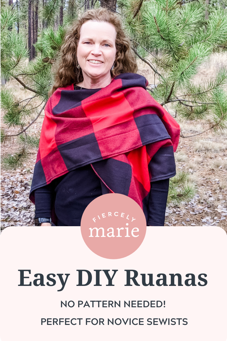 DIY Ruanas – No Pattern Needed!