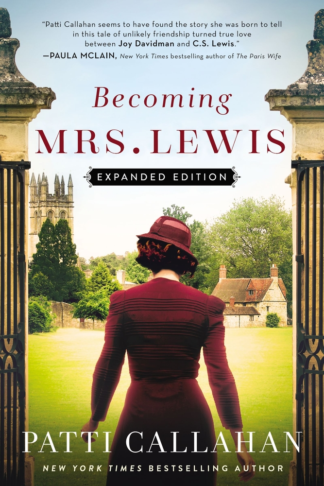 The cover for Becoming Mrs. Lewis
