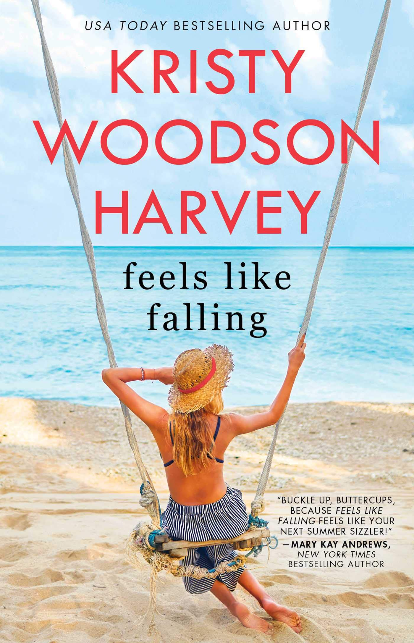 As included in the Christmas book flood, the cover image for Feels Like Falling