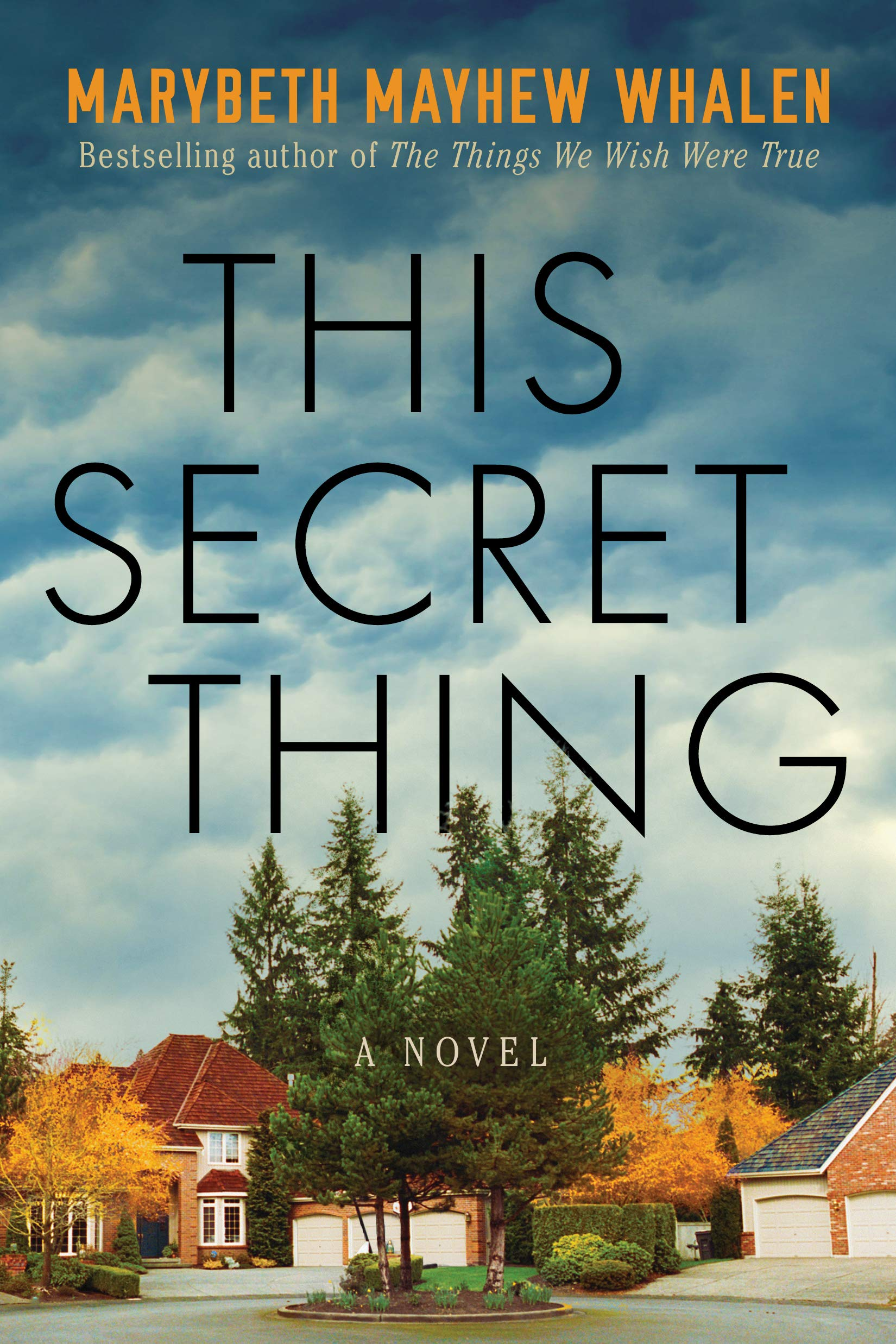 The cover of This Secret Thing, a gift for a Christmas Book Flood