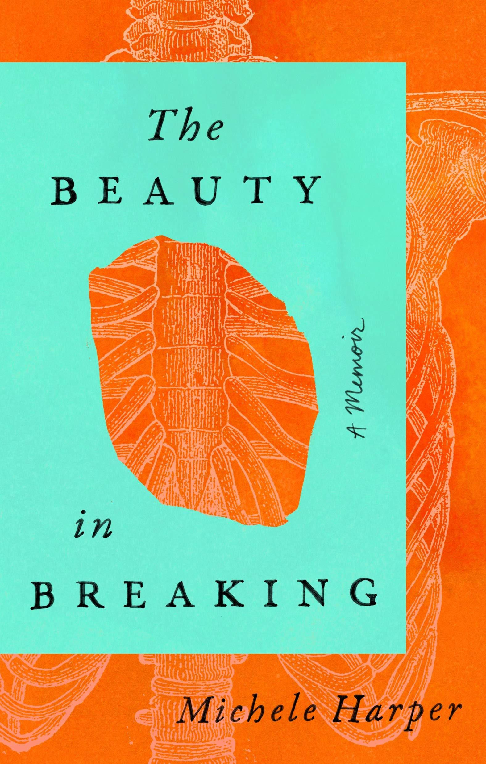 The cover for BEAUTY IN BREAKING BY MICHELE HARPER, part of Marie's 2020 Reading Round-Up