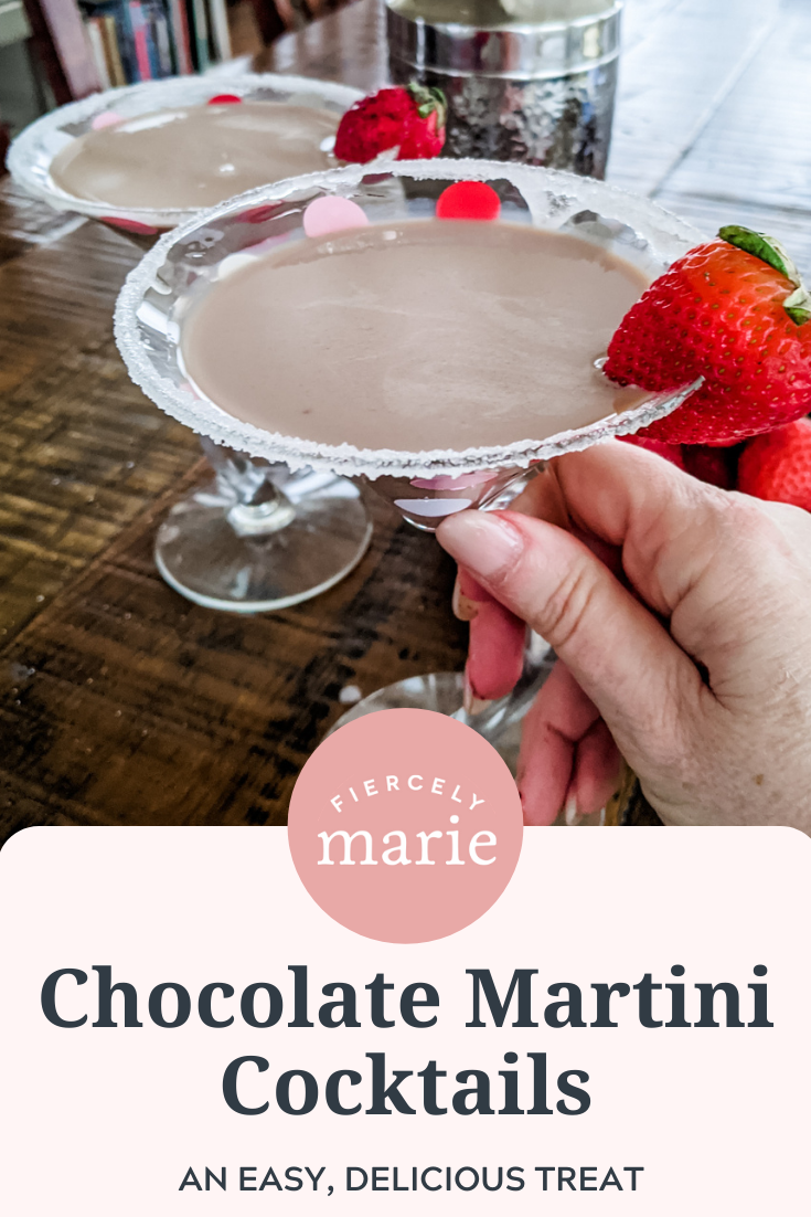 Easy Chocolate Martini Cocktails