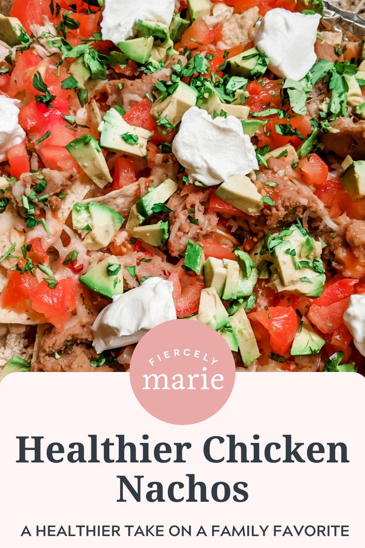 Healthier Chicken Nachos Recipe