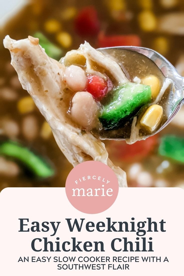 Easy Weeknight Chicken Chili: Slow Cooker Recipe