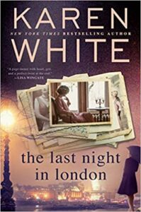 Cover of The Last Night in London by Karen White