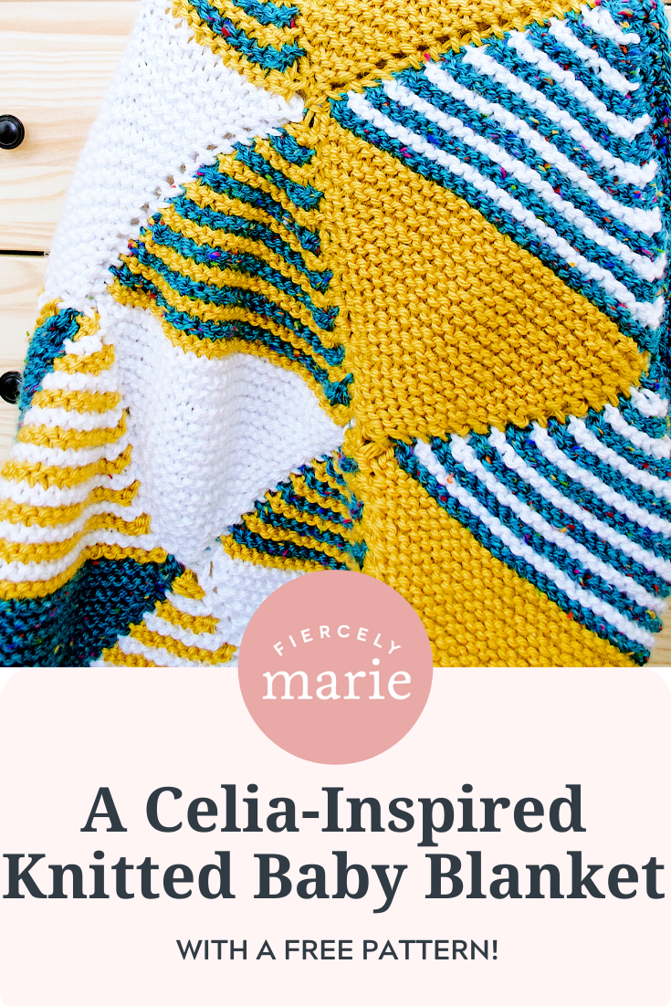Celia Fairchild Knitted Baby Blanket: Craft of the Month