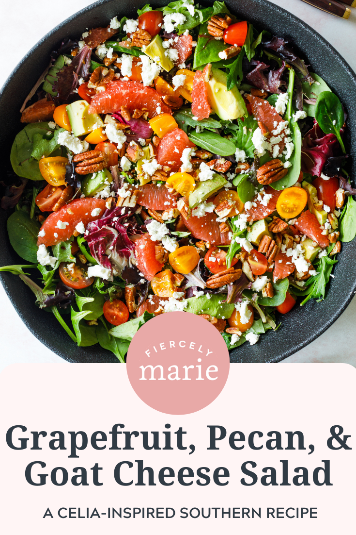 "Grapefruit, Pecan, and Goat Cheese Salad: ""Celia Fairchild"" Recipe #2"