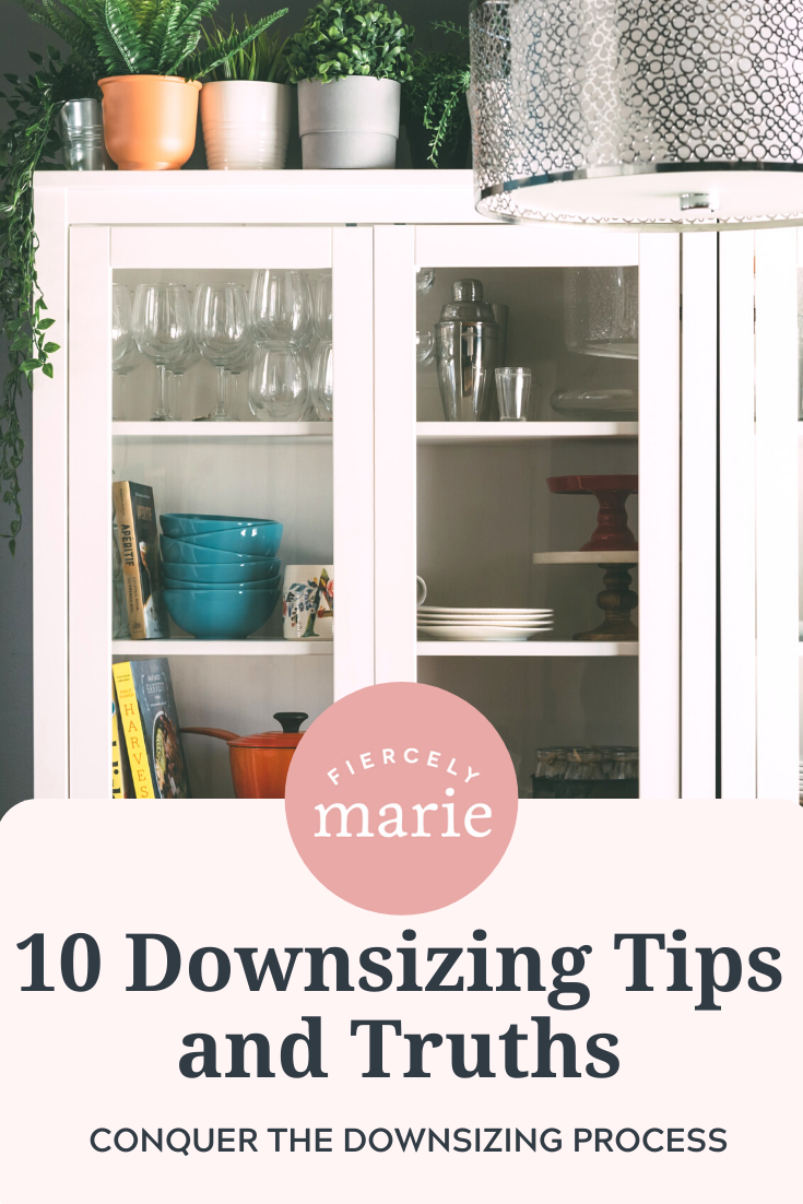 10 Downsizing Tips and Truths