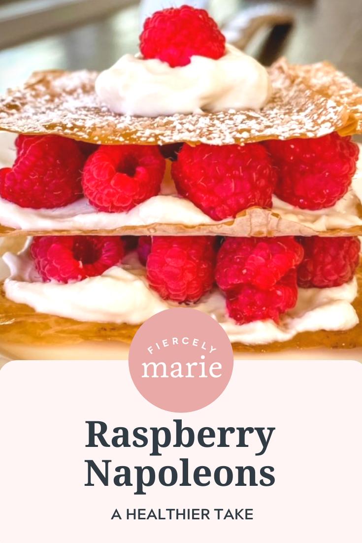 Raspberry Napoleons – A Healthy Dessert