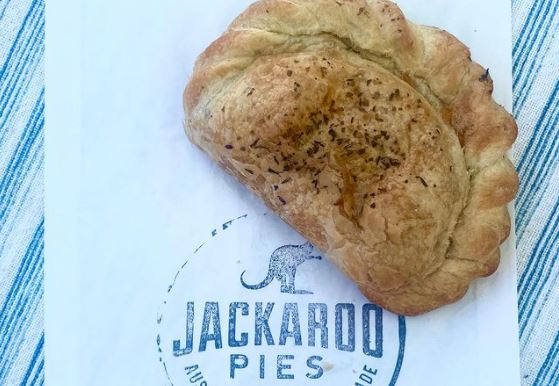 A picture of a pie from JackieRoo Pies
