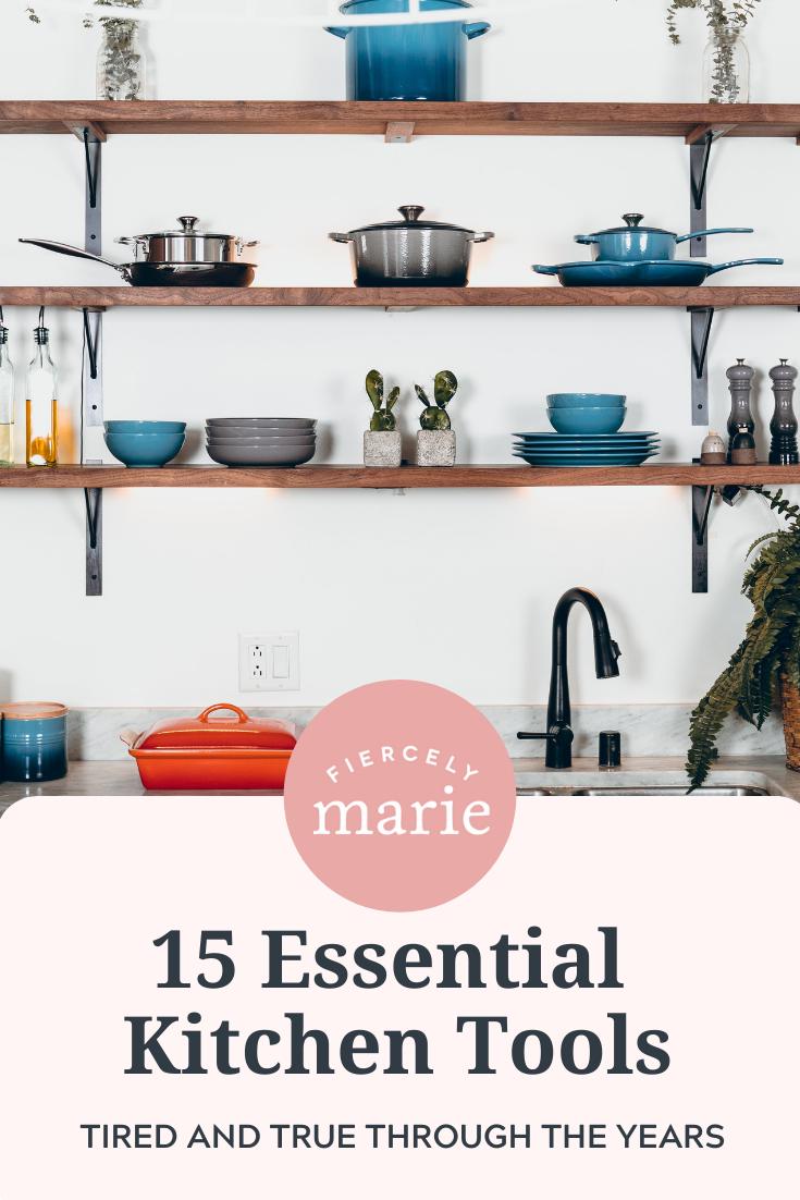 15 Essential Kitchen Tools