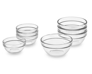 Glass Prep Bowls, one of Marie's essential kitchen tools