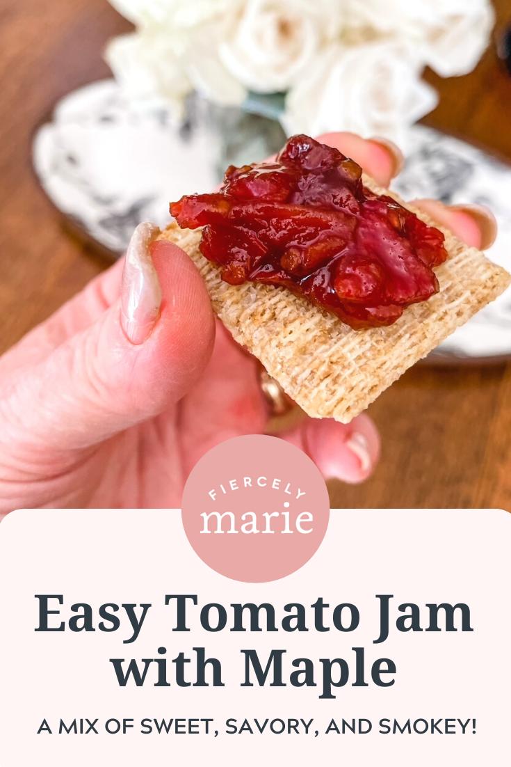Easy Tomato Jam with Maple
