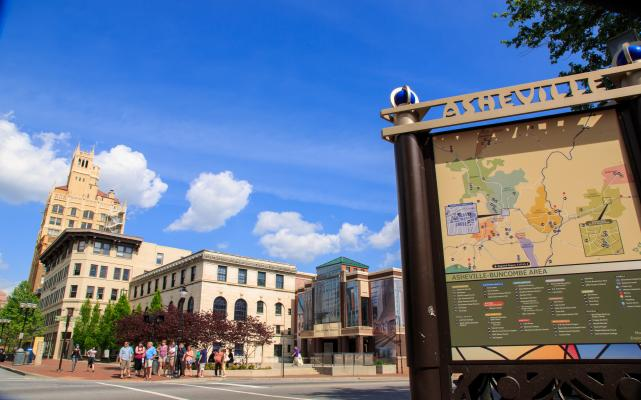 A walking tour, perfect for a Asheville, NC in a Day